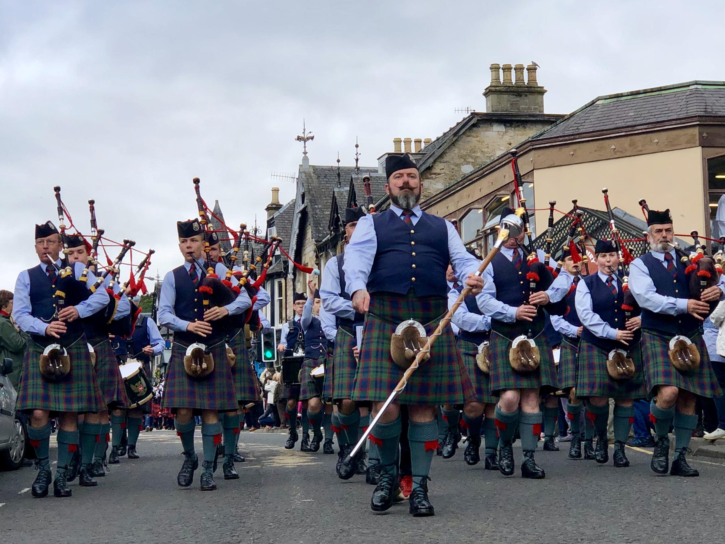 schotland doedelzak highland games